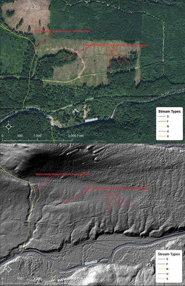 Tribes partner to survey forestlands with LIDAR | Northwest Indian